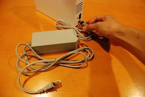 Wii電源接続