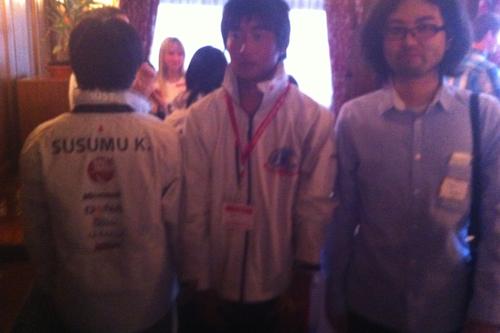 Tohoku Youth Sailorsの皆さんとご一緒にお写真