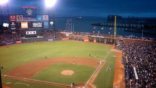 サンフランシスコジャイアンツの拠点であるAT&Tパーク