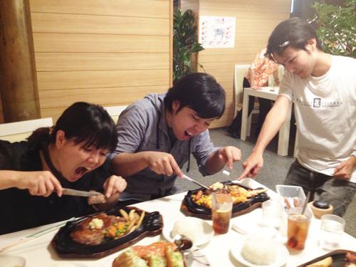 05_肉食べてよし