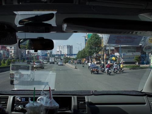 ベトナムバイク専用道路