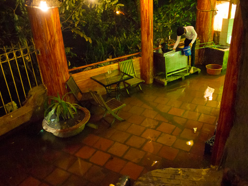 サイゴン川氾濫