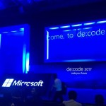日本マイクロソフト テクニカルカンファレンス「de:code2017」参加してきました!(2/5)