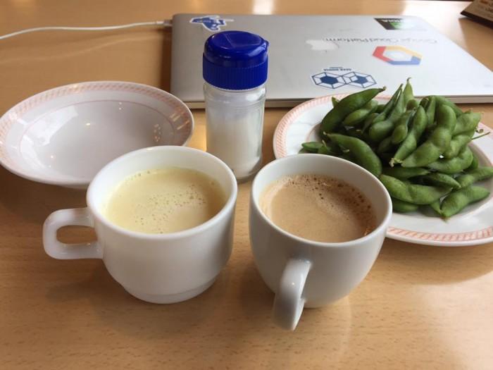 11_枝豆+ドリンクバーセット